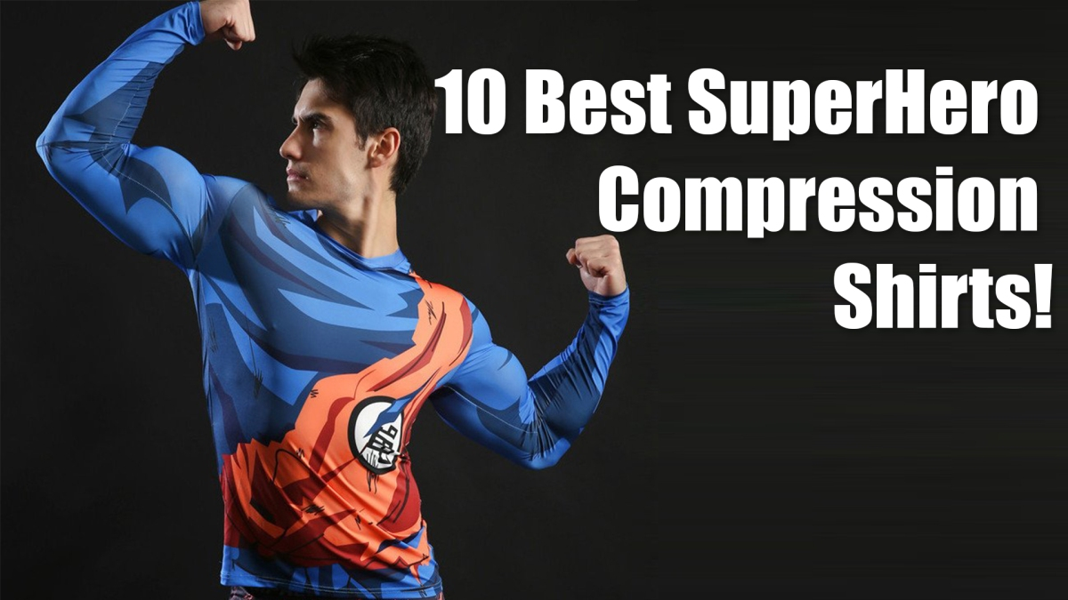The 10 Best Superhero Compression Shirts