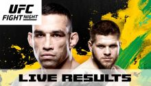 UFC Fight Night 121 Fabricio Werdum Vs. Marcin Tybura Results